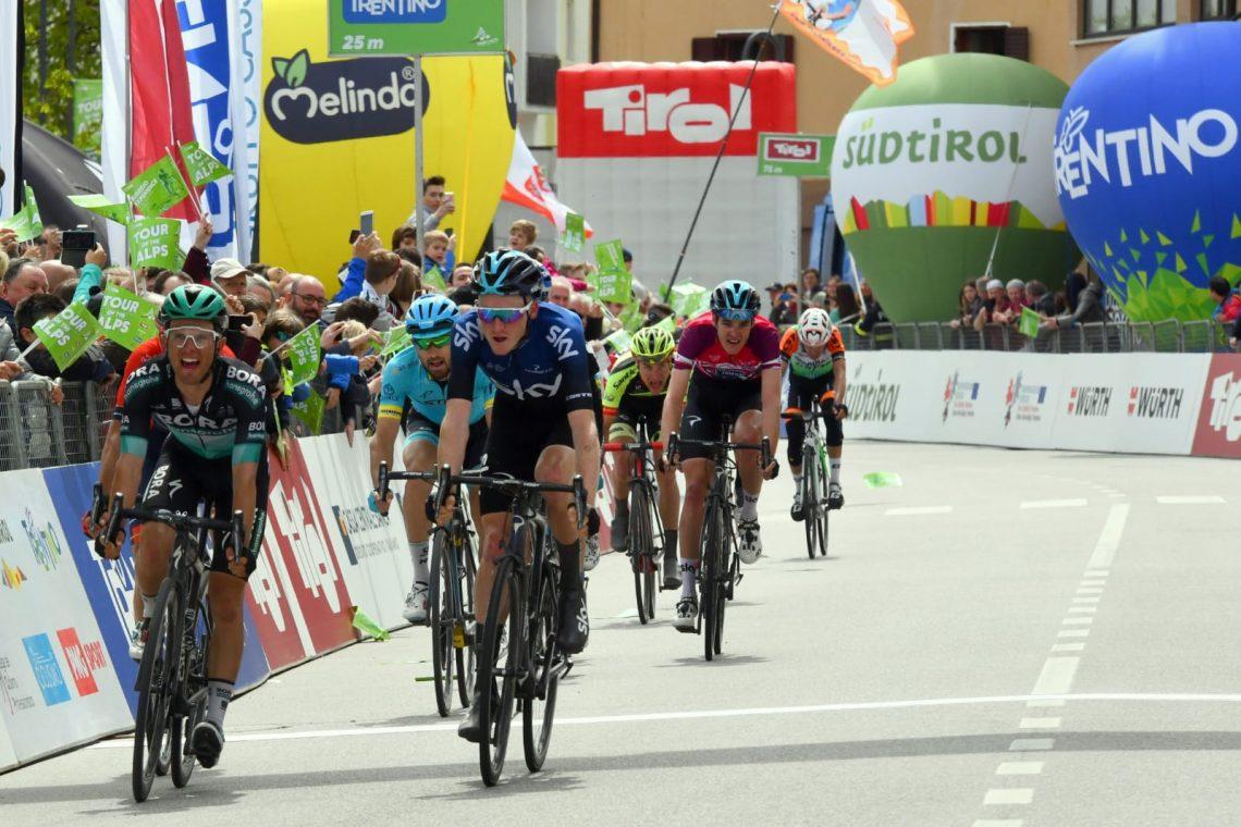Melinda partner del Tour of the Alps