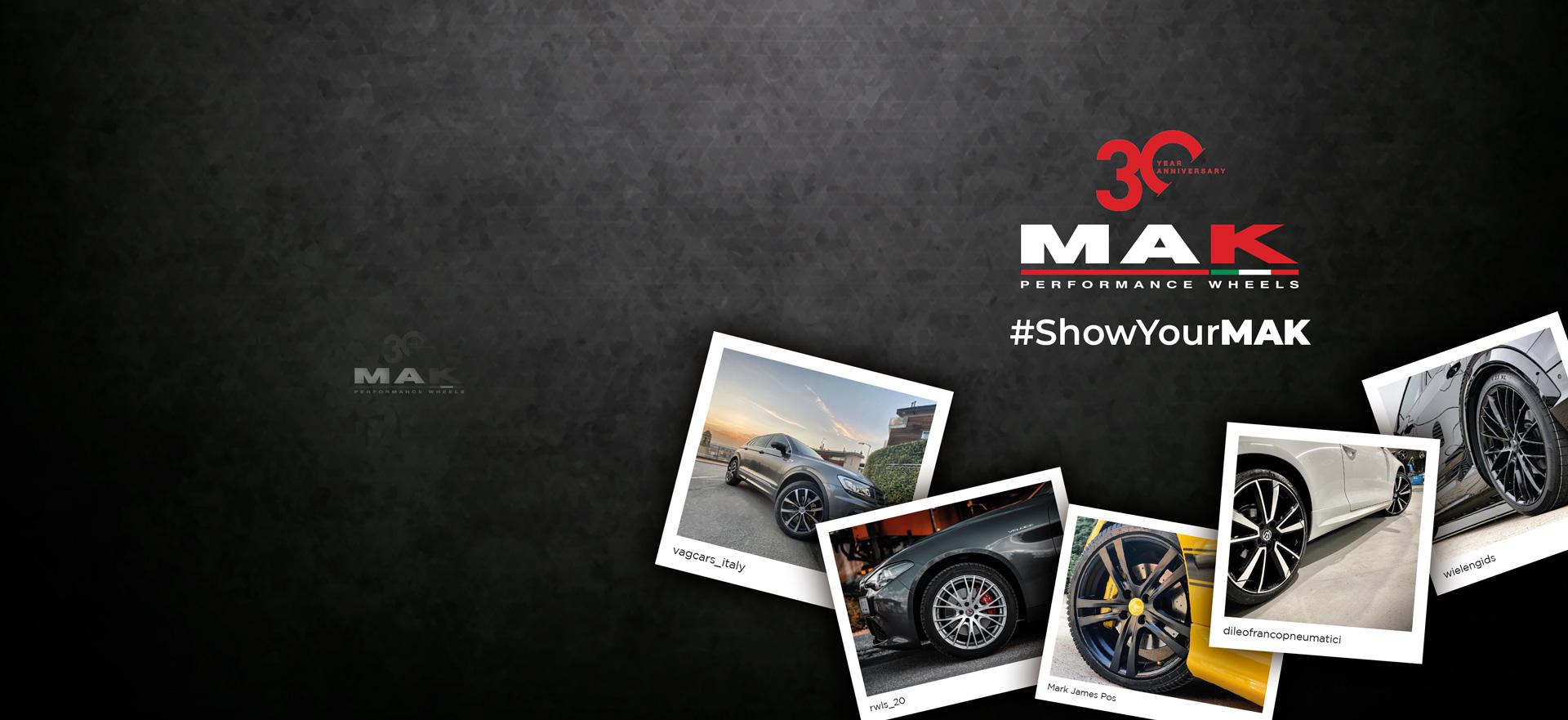 #showyourMak campagna digital Soluzione Group per Mak